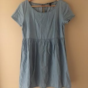 Small forever 21 jean colour dress